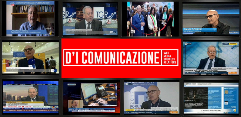 Studio d'I comunicazione all'evento Forum PA 2017